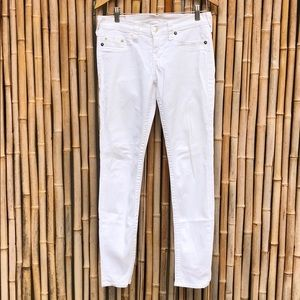 TRUE RELIGION Casey White Skinny Jeans 29